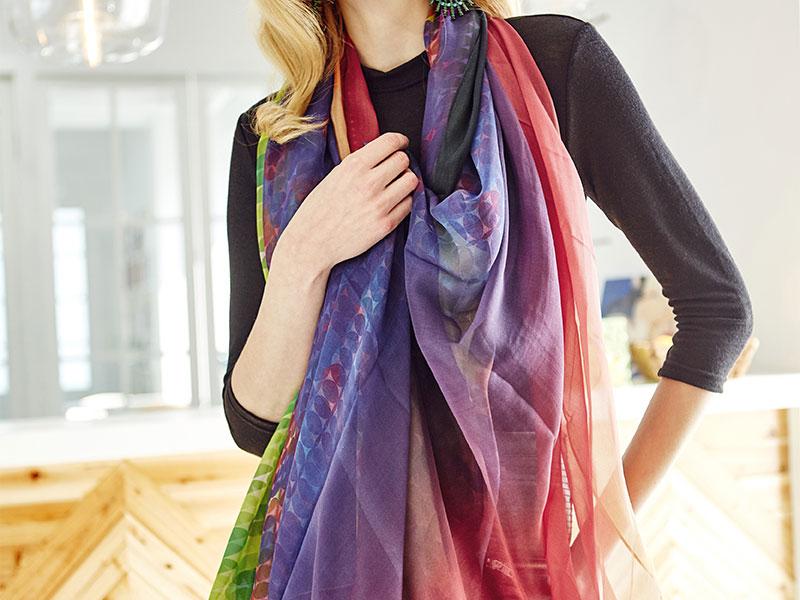 新手怎么织围巾?佩琪围巾系列手把手教你织围巾