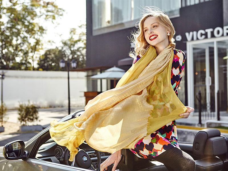 佩琪围巾系列:围巾要怎么搭才好看