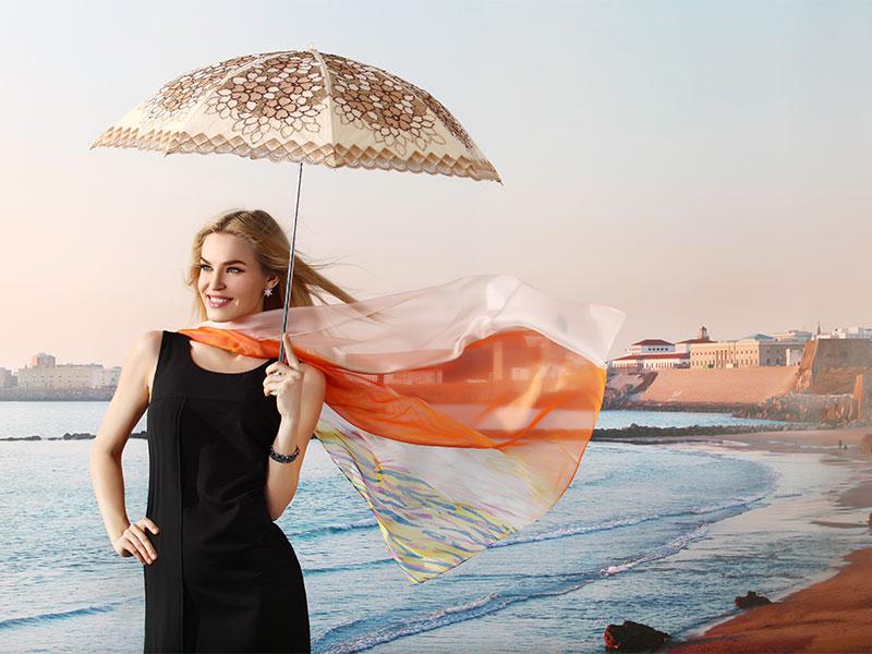 佩琪:雨季来袭-雨伞也可以很时尚