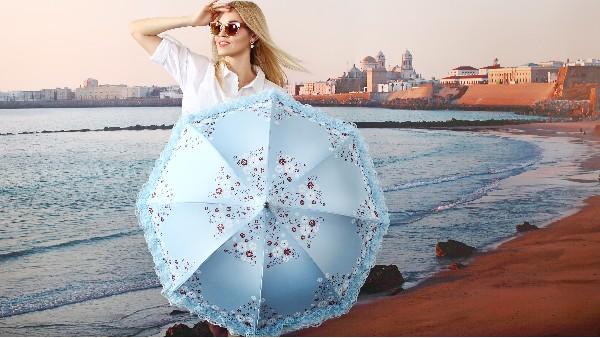 佩琪:晴雨伞和遮阳伞的区别