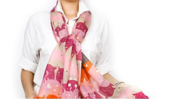 佩琪:秋冬围巾的清洗与保养方法