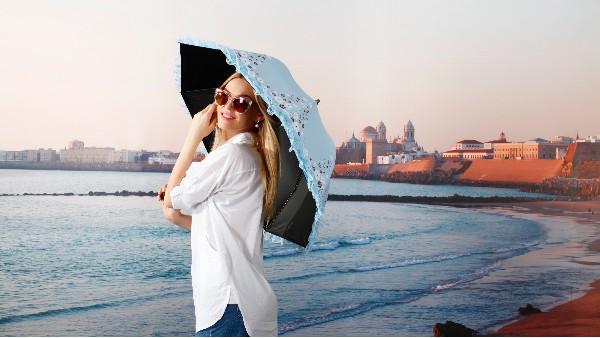 佩琪:夏季遮阳伞怎么挑选?