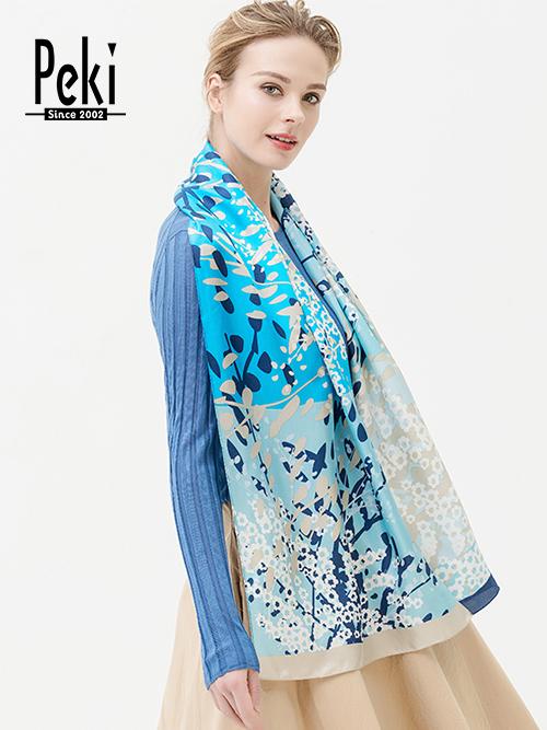 桑蚕丝长巾2