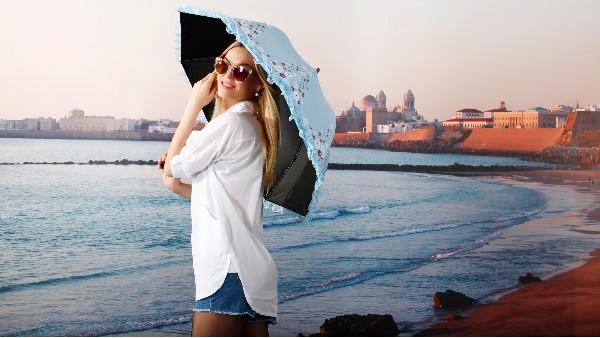 佩琪:夏日防晒,你真的选对了遮阳伞吗?