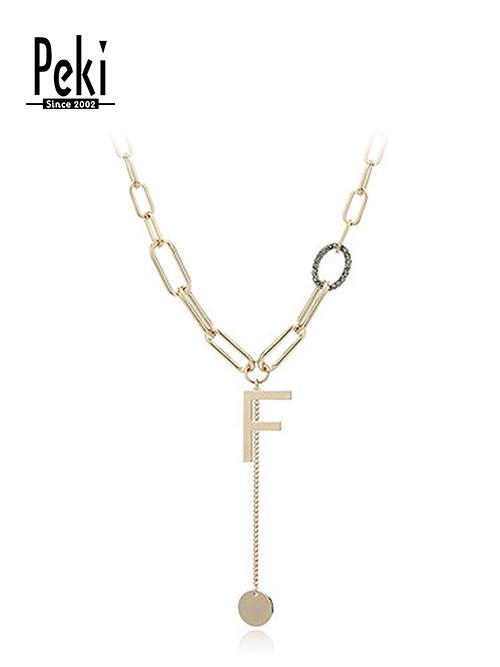 锁骨链1 材质:合金